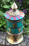 Jeweled Prayer Wheel  #5