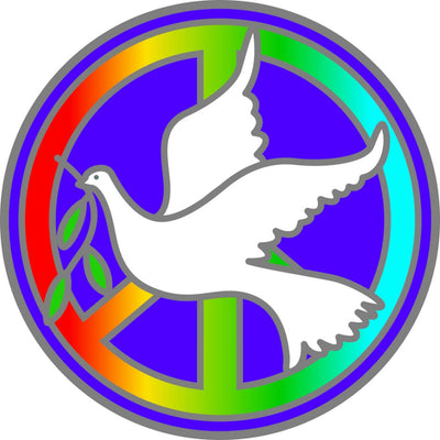 Peace Dove Decal #20