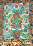 Green Tara Sacred Art Card #4