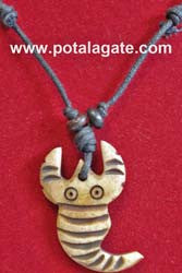 Scropion Bone Necklace #11