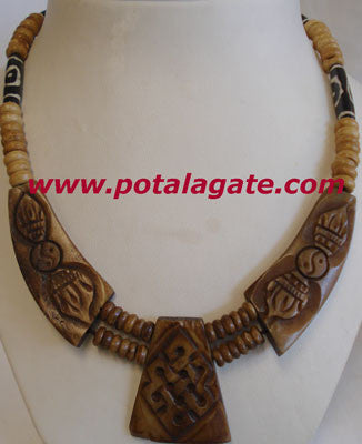 Knot with Dorjee Necklace #41
