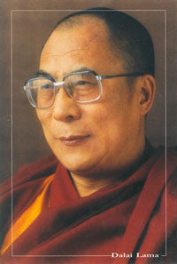 DALAI LAMA POST CARD #1_
