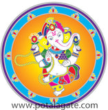Dancing Ganesh Decal #6
