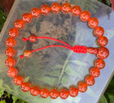 Carnelian Wrist Mala Adjustable #2