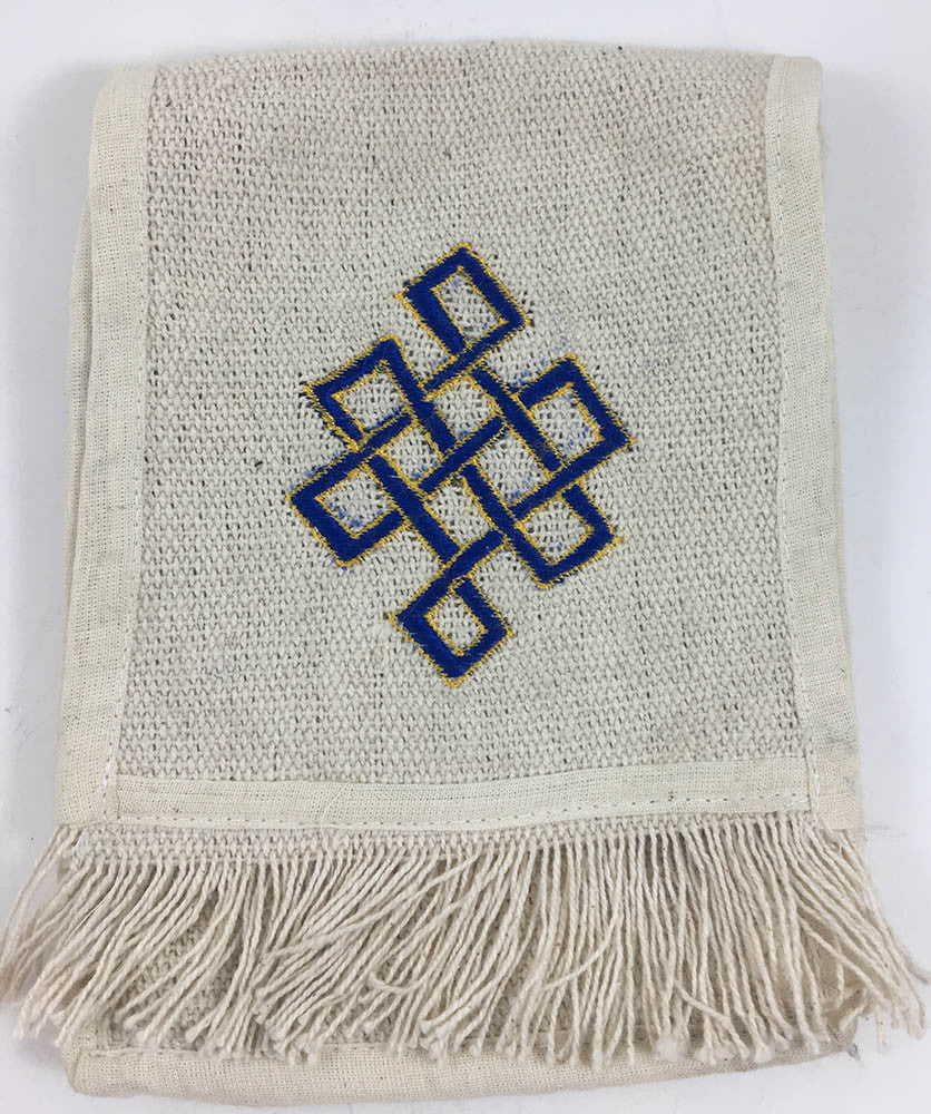 Infinite Knot Square Bag #19