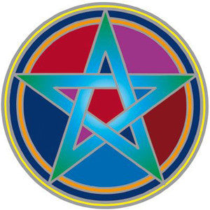 Pentacle Decal #19