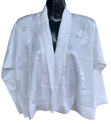 New White Chuba Blouse