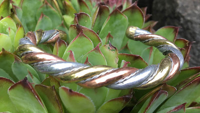 Twisted Copper Bracelet #3