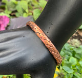 Therapeutic Twisted Copper Bracelet