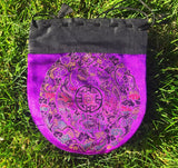 Brocade Drawstring Bag #2