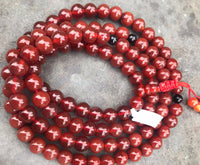 Carnelian with Onyx Spacer Beads  #14