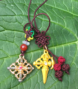 Colorful Vajra Charm #3