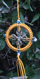 Dharma Wheel with Metal Dorjee #9