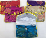 Asian Silk Coin Purse #14