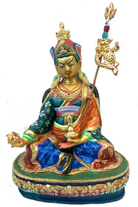 Colorful Padmasambhava Statue.
