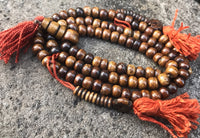 Brown Bone Mala #4