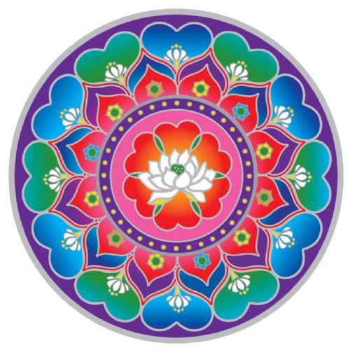 Lotus Heart Mandala #