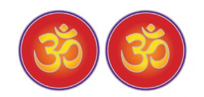 Om Small Decal #1