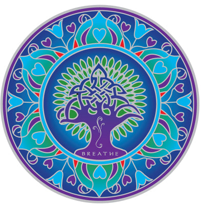 Earth Mandala Decal #14