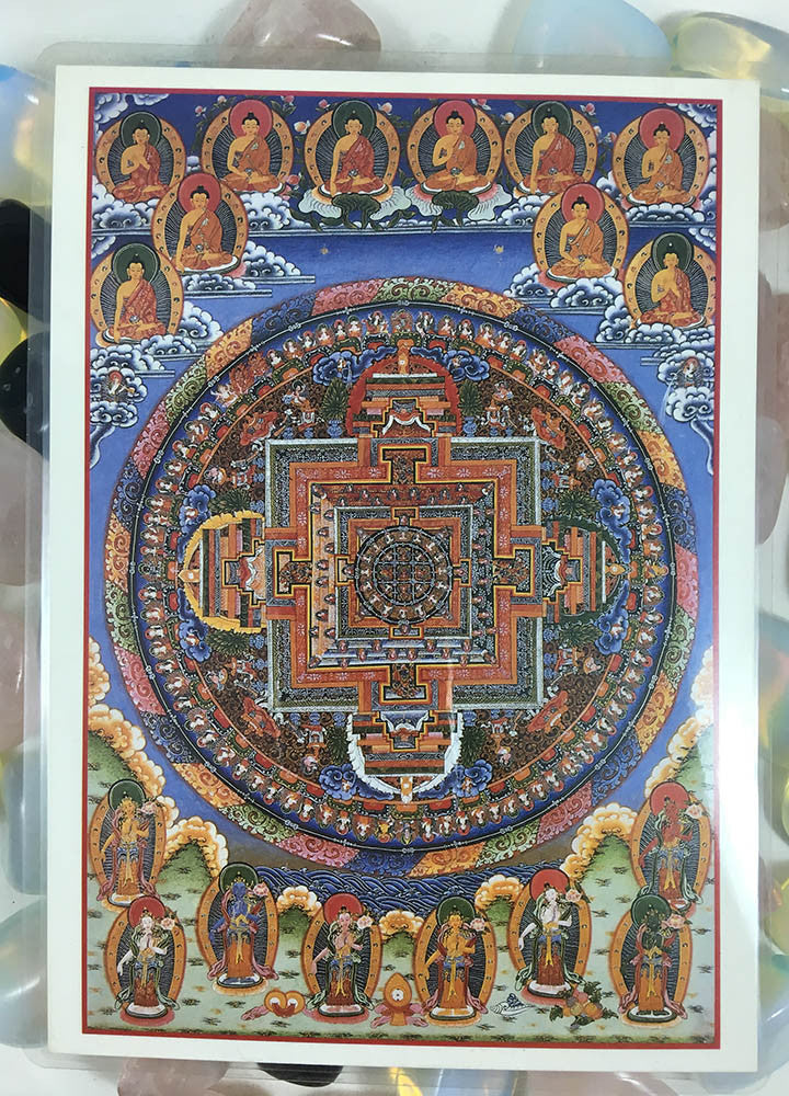 Amitabha Mandala Art Card