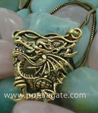 Dragon Pendant with Chain #10