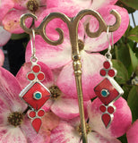 Beautiful Stone Earring #4
