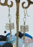 Prayer Wheel Earring #10