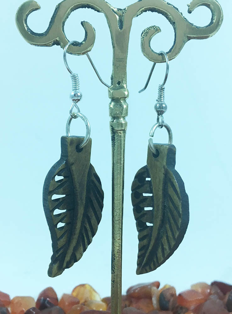 Leaf design Earring # 44