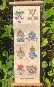 Eight Auspicious Scroll #5