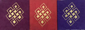 Endless Knot Print Notebook #3