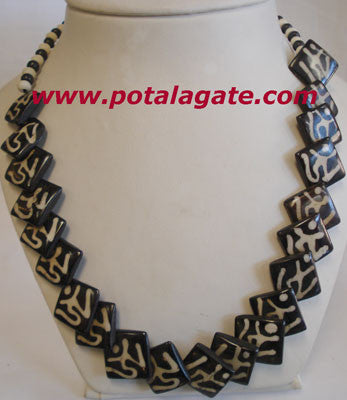 Tibetan Om Necklace #40