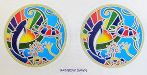 Rainbow Dawn decal #5