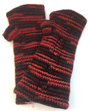 Hand Warmer: Red & Black