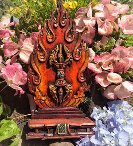 Flaming Dorje Carving #11