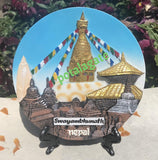 Stupa Commemorative Plate