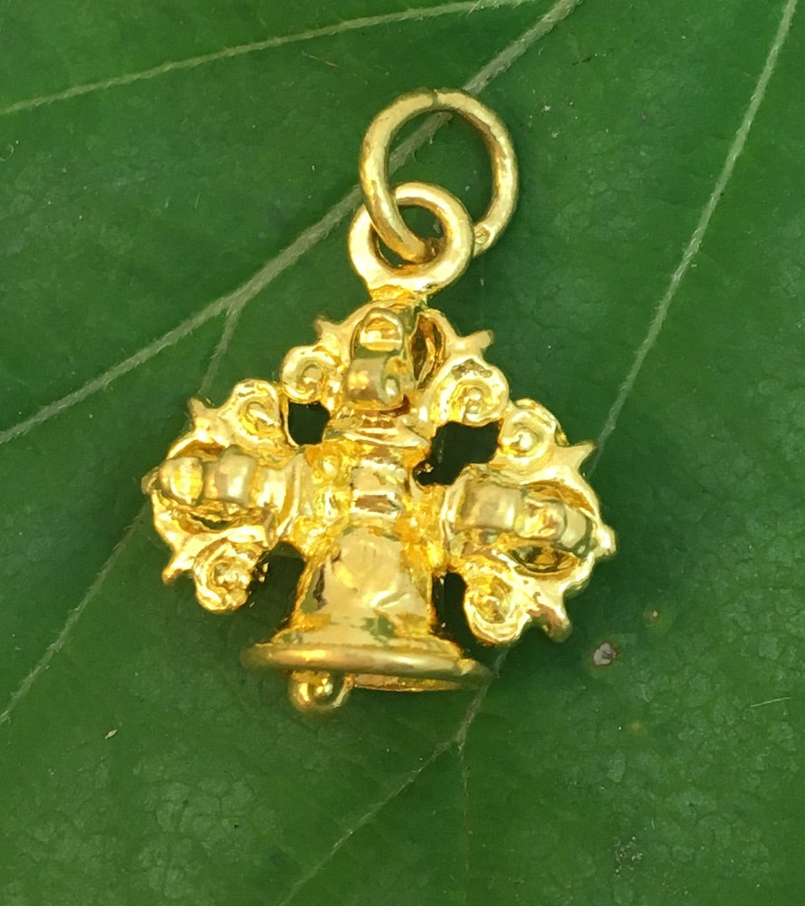 dorje gold pendant products belldorje bell potalagate
