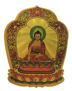 Gold Buddha Sticker #1