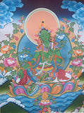 Green Tara Thangka Large #6