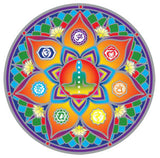 Seven Chakra decal #18