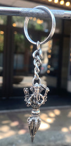 Ganesh with Phurba Key Charm