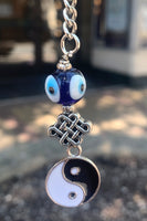 Yin Yang with Knot Key Charm