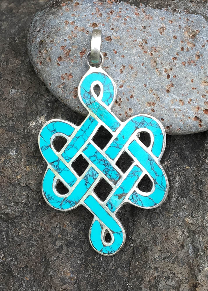 Endless Knott Pendant #16