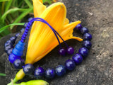 Lapis Wrist Mala: Adjustable #9
