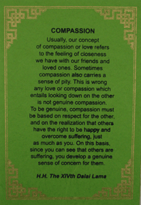 Compassion Greeting Card #1