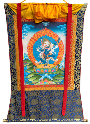 Lion Face Dakini Thangka#9