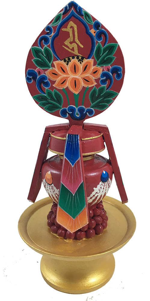 Colorful Long Life Vase  #1