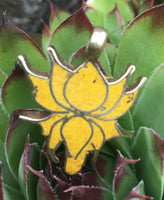 Lotus with Inlaid Pendant #18
