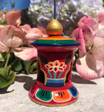 Lotus Prayer Wheel Sm #2