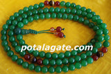Agate Prayer Bead #1