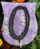 Bone Mala in Black